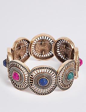 Circle Gem Bracelet