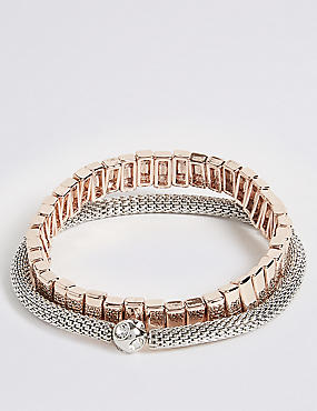 Marks And Spencer Customisable Bracelet Rose Tgjwa2i