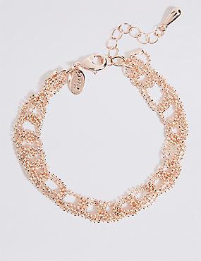 Looped Ball Chain Bracelet