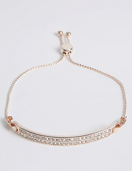 Pave Toggle Bracelet