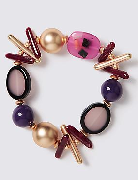 Stick Mix Bead Bracelet