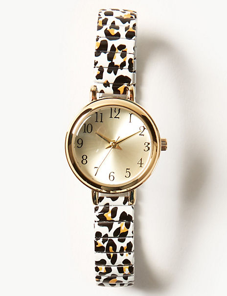 Round Face Expander Watch