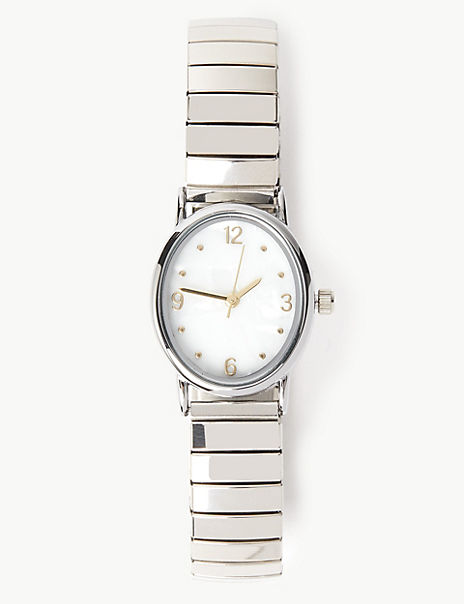 Pearl Face Expander Watch