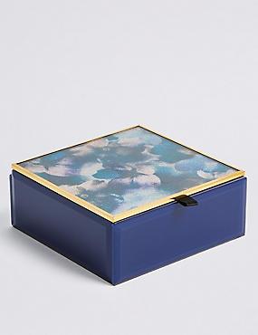 Glitter Petal Jewellery Box