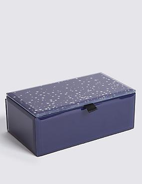 Star Glitter Jewellery Box