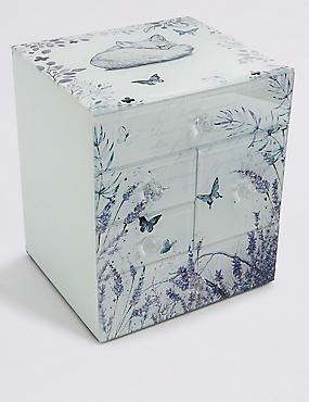 Butterfly Garden Multi Jewellery Box