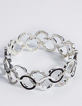 Enamel Rings Bracelet