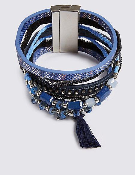 Wrapped Cuff Bracelet