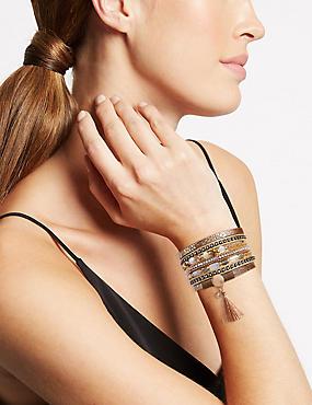 Wrapped Boutique Cuff Bracelet