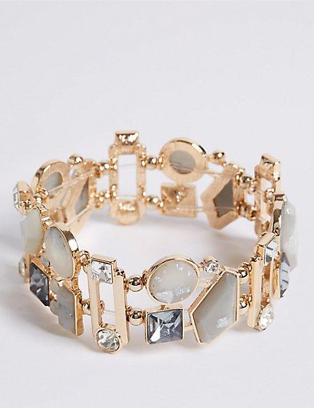 Glitzy Jewel Bracelet