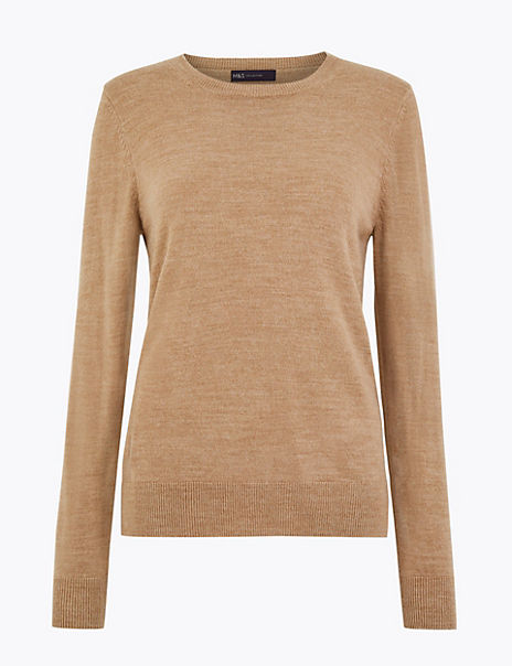 Cashmilon™ Round Neck Jumper
