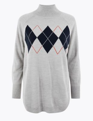 Cashmilon™ Relaxed Fit Jumper by Marks & Spencer