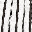 Striped Round Neck Short Sleeve Knitted Top, WHITE MIX, swatch
