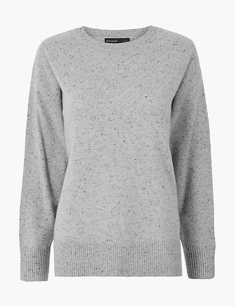 Pure Cashmere Relaxed Fit Jumper