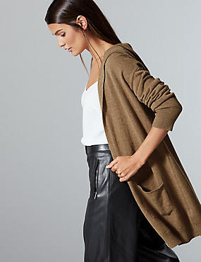 Pure Cashmere Textured Cardigan