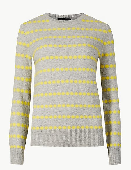 Pure Cashmere Spotted Jumper