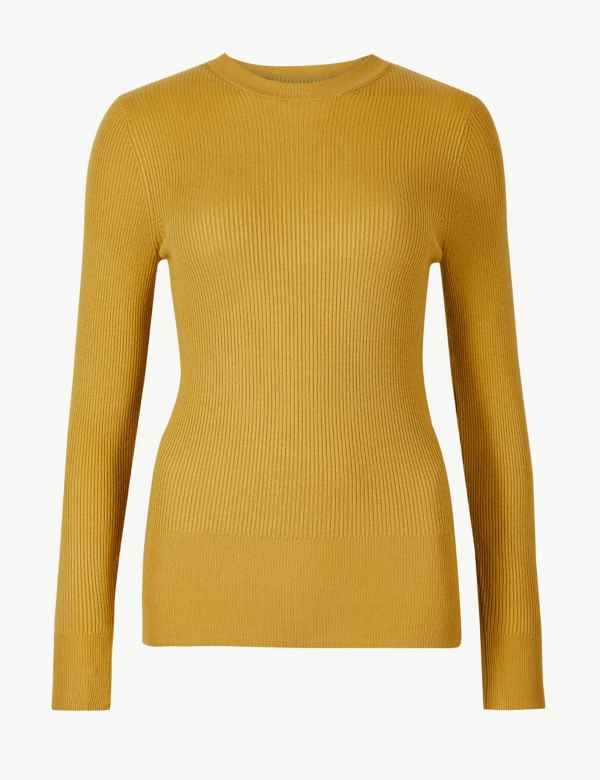 Yellow Knitwear  f762397de872