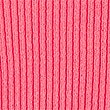 Ribbed Short Sleeve Knitted Top, PINK, swatch