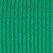Ribbed Polo Neck Jumper, EMERALD, swatch