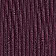Ribbed Polo Neck Jumper, DARK GRAPE, swatch