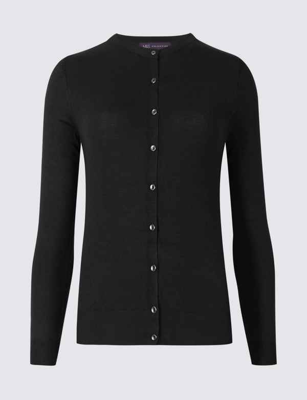 8df9bb415ef24 Blue Knitwear | Womens Navy Cardigans & Jumpers | M&S