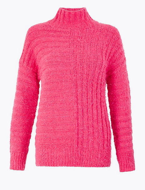 Textured Chenille Relaxed Jumper