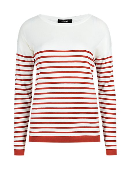 Striped Jumper with Modal