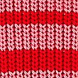 Pure Cotton Striped Slash Neck Jumper , RED MIX, swatch