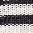 Pure Cotton Striped Slash Neck Jumper , NAVY MIX, swatch