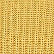 Pure Cotton Cable Knit Slash Neck Jumper, OCHRE, swatch