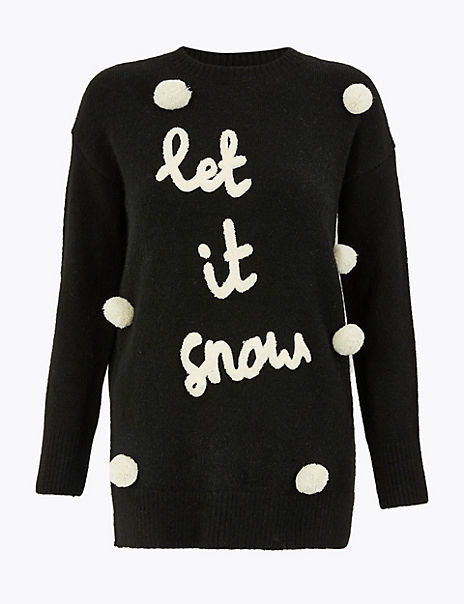 Let It Snow Christmas Jumper