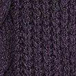 Textured Open Front Cardigan, DEEP PURPLE, swatch