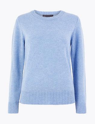 pullover-mit-hohem-wollanteil-und-rundhalsausschnitt by 35-tage-rückgaberecht