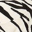 Gilet long en lin mélangé à imprimé animal, AVOINE ASSORTI, swatch