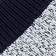 Pure Cotton Colour Block Knitted Vest, MEDIUM BLUE MIX, swatch
