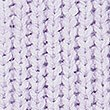 Cable Knit Sleeve V-Neck Jumper, LILAC, swatch