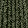 Cotton Rich Textured V-Neck Jumper, HUNTER GREEN, swatch