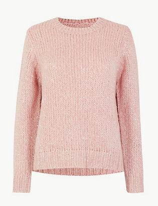 Sequin Jumper by 35 Days To Return