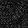 Textured Split Button Neck Jumper, BLACK, swatch