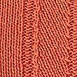 Textured Round Neck Jumper, DUSTY APRICOT, swatch