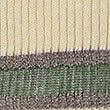 Striped V-Neck Jumper with Linen, KHAKI MIX, swatch