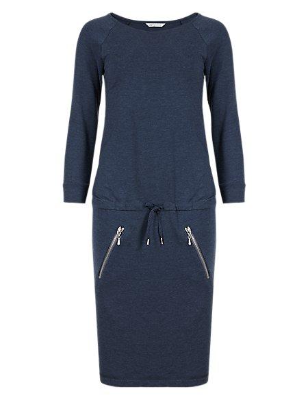 3/4 Sleeve Tunic Dress