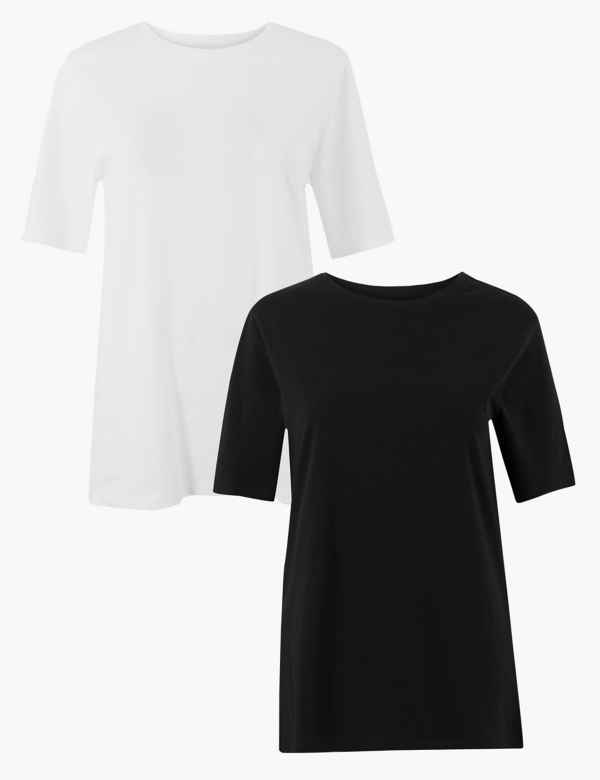 72d4ae695 Womens Black Tops & T-shirts | M&S