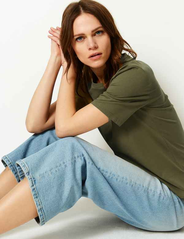 1e715357148da Womens Green Tops & T-shirts   M&S