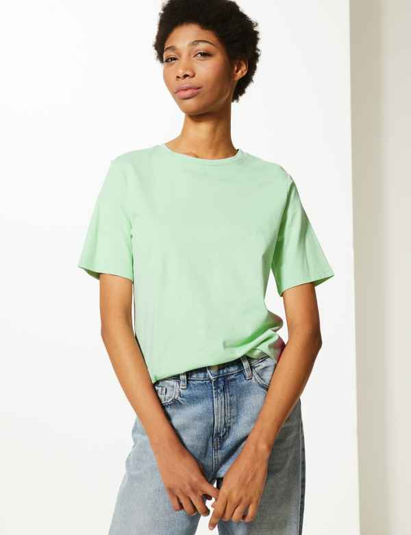 9c887278042 Womens Green Tops & T-shirts | M&S