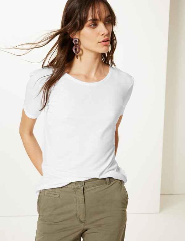 c89d55f3 Womens Tops & T shirt | Cool Printed Ladies Tshirts | M&S