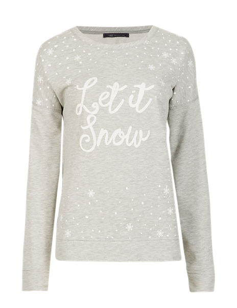 Let it Snow Sweat Top