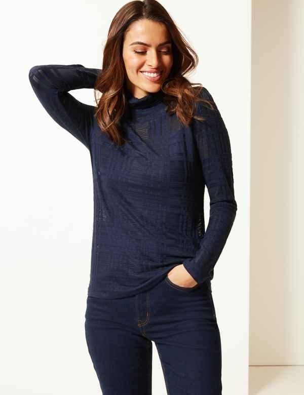 01303f6955 Womens Roll Neck Knitwear