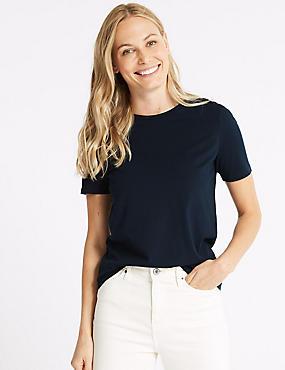 Pure Supima Cotton Short Sleeve T-Shirt