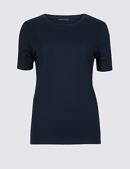 Pure Supima Cotton Short Sleeve T-Shirt